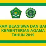 Program Beasiswa dan Bantuan Kementerian Agama Tahun 2019