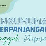 Perpanjangan Penerimaan Proposal Program Kreativitas Mahasiswa Tahun 2021