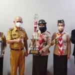 Aktif Pramuka, Shahnaz Raih Juara II ESA 2021 Kwarda Jateng