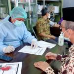 239 Dosen dan Tenaga Kependidikan UNISNU Terima Vaksinasi Tahap Pertama