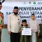 Unisnu Serahkan Santunan Yatama ke 50 Anak Yatim