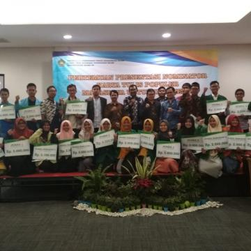 Sa'adatul Raih Juara Harapan I Kompetisi Karya Tulis Mahasiswa Nasional