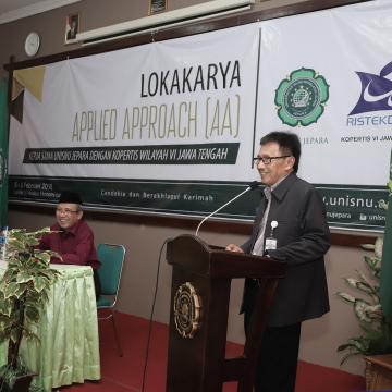 Gandeng Kopertis VI Jateng, Unisnu Menggelar Lokakarya Applied Approach