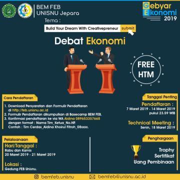 Debat Ekonomi FEB