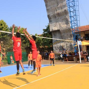 Peringati Harlah, Unisnu Gelar Turnamen Voli dan Futsal