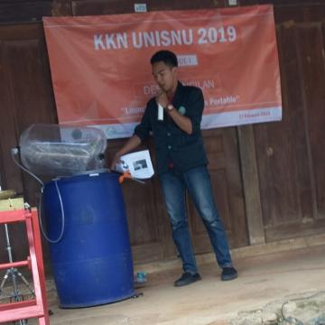 Mahasiswa KKN Buatkan Warga Kancilan Reaktor Biogas