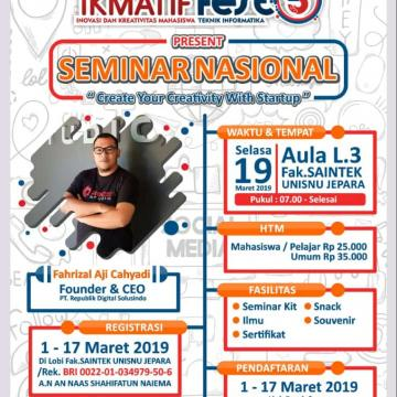 Seminar Nasional Ikmatif Fest