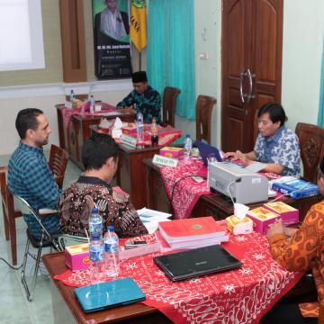 Visitasi MPI, Asesor Penasaran Mahasiswa Asing di Unisnu