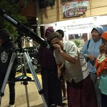 Unisnu Observasi Gerhana Bulan Terlama Abad Ini