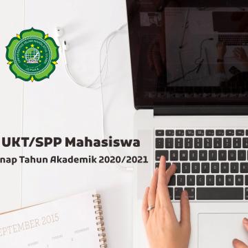 Program Bantuan UKT/SPP Mahasiswa Semester Genap Tahun Akademik 2020/2021