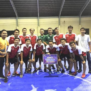 Tim Futsal Unisnu Raih Juara III POM Rayon I Jateng