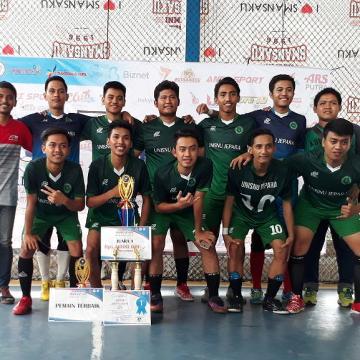 Tim Futsal Unisnu Juara Pertama dalam Tournament Muria Cup 2018