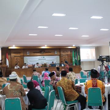 Halalbihalal Forum Komunikasi Perguruan Tinggi Keagamaan Islam Swasta Jawa Tengah