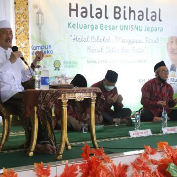 Hadirkan KH. Muhammad Haidar Muhaiminan Temanggung, Unisnu Gelar Halalbihalal