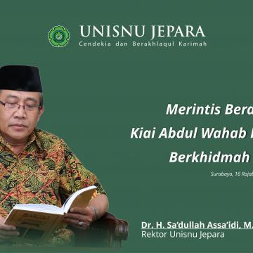 Merintis Berdirinya NU, Kiai Abdul Wahab Hasbullah Berkhidmah untuk NU