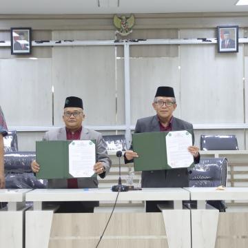 Unisnu Jepara Jalin Kerja Sama dengan Unwahas Semarang