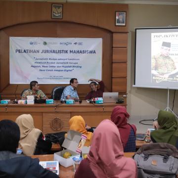 Mahasiswa Unisnu Ikuti Pelatihan Jurnalistik bersama Media Grup