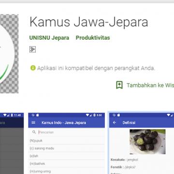 Dosen Unisnu Ciptakan Kamus Jawa-Jepara Berbasis Android
