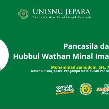 Pancasila dan Hubbul Wathan Minal Iman