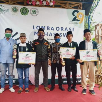 Lomba Orasi; Bentuk Internalisasi Islam Nusantara dalam Jiwa Mahasiswa