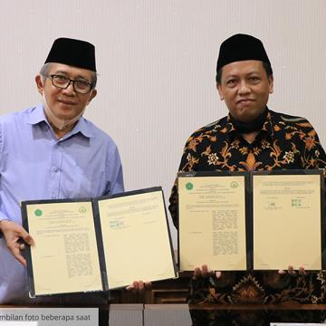 ITS NU Pekalongan Studi banding dan tandatangani MoU dengan Unisnu Jepara