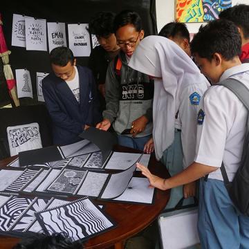 Pameran Satwulan 2020, Ajang Unjuk Gigi Mahasiswa DKV