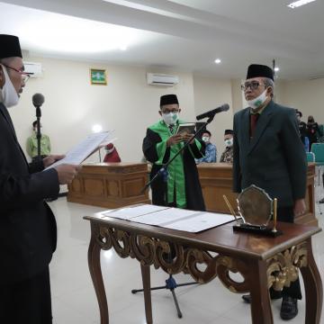 Dr Sa'dullah Assa'idi MAg Dilantik Kembali Menjadi Rektor Unisnu Jepara