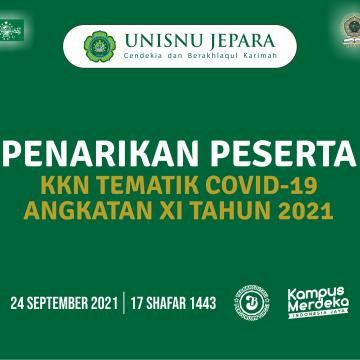 Penarikan Peserta Kuliah Kerja Nyata Tematik Covid-19 Angkatan XI Tahun 2021