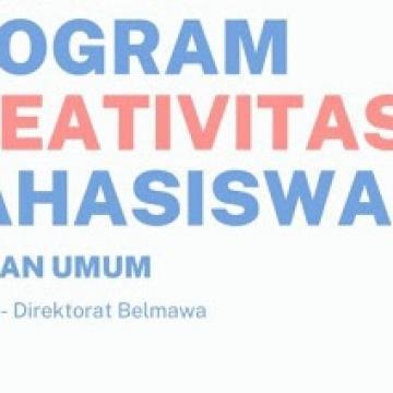 Pendaftaran Program Kreativitas Mahasiswa (PKM) Tahun 2021