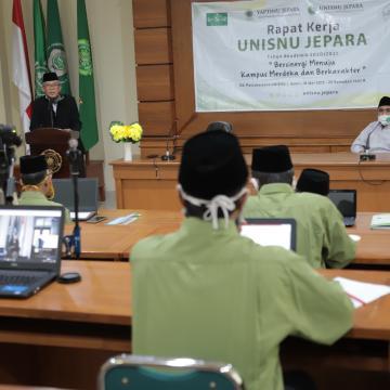 Sambut Tahun Akademik Baru, Unisnu Gelar Rapat Kerja
