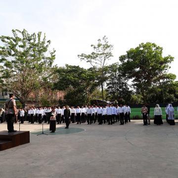 Kapolres Jepara Pimpin Upacara Peringatan Sumpah Pemuda di Unisnu
