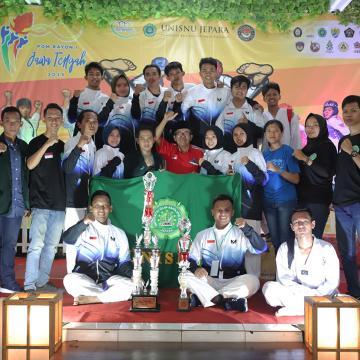 Unisnu Raih 14 Medali Cabor Taekwondo POM Rayon I Jateng 2019