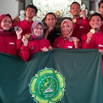 Unisnu Gasak 4 emas dan 2 Perunggu dalam Kejuaraan Taekwondo Internasional di Bali