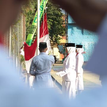 Unisnu Laksanakan Upacara Bendera Dirgahayu ke-74 RI