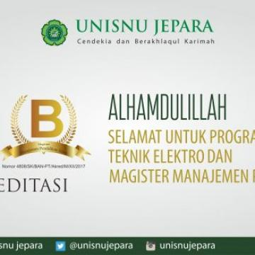 MPI dan Teknik Elektro Raih Akreditasi B
