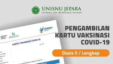 Pengambilan Kartu Vaksinasi Covid-19 Dosis Kedua/Lengkap