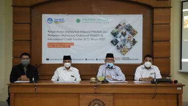 Unisnu Lepas 18 Mahasiswa ke Luar Jawa, 3 Mahasiswa ke Luar Negeri, dan Sambut 11 Mahasiswa dari Luar Pulau Jawa