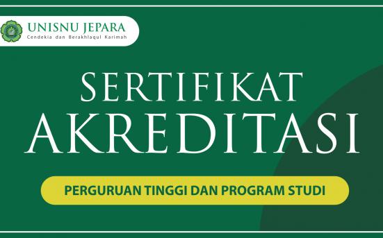 Akreditasi Perguruan Tinggi dan Program Studi