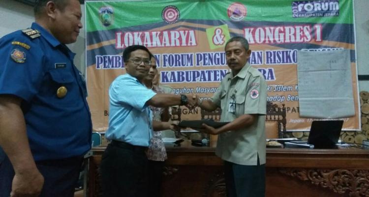 Fatchur Rohman pimpin Forum Pengurangan Risiko Bencana Jepara