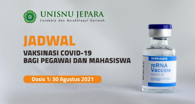 Jadwal Vaksinasi Covid-19
