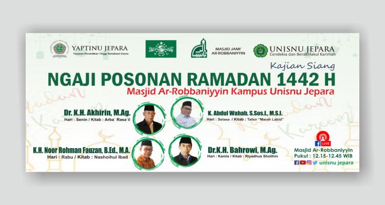 Kajian Siang Ngaji Posonan Ramadan 1442 H