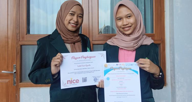 Dua Mahasiswi Unisnu Kembali Raih Prestasi di Dua Ajang Kompetisi