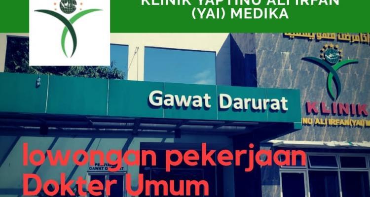 Lowongan Pekerjaan Dokter Umum