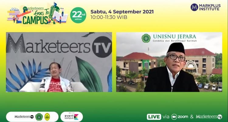 Rektor Unisnu Jepara : Ilmu Marketing Dibutuhkan dalam Mengelola Perguruan Tinggi