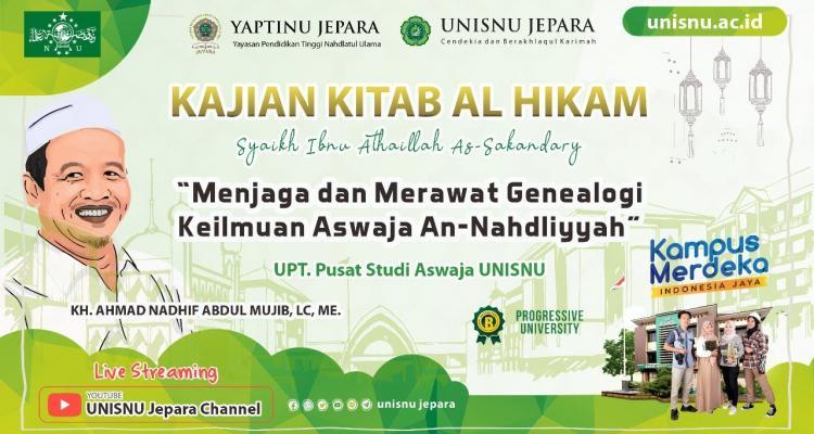 Kajian Kitab al Hikam Bareng KH. Ahmad Nadhif Abdul Mujib