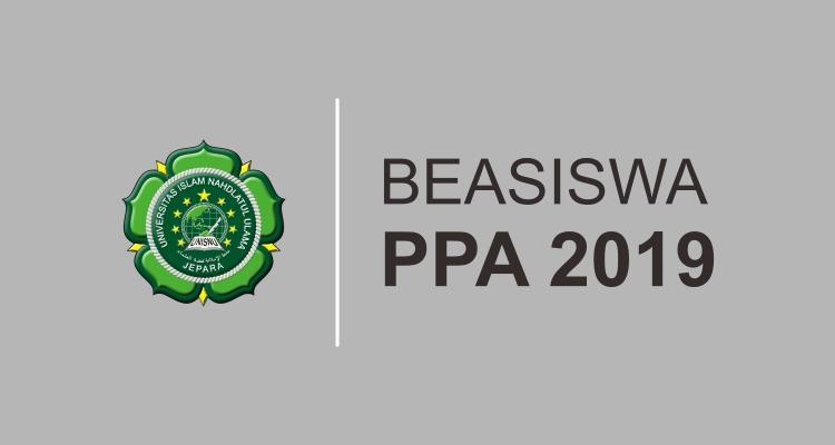 Pendaftaran Beasiswa Peningkatan Prestasi Akademik (PPA) Tahun 2019