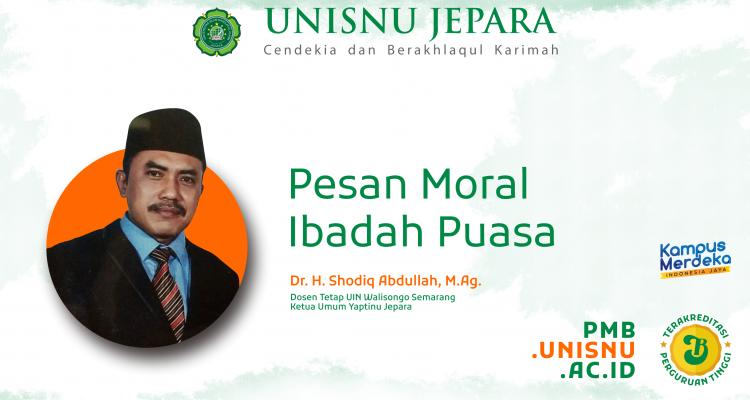 Pesan Moral Ibadah Puasa